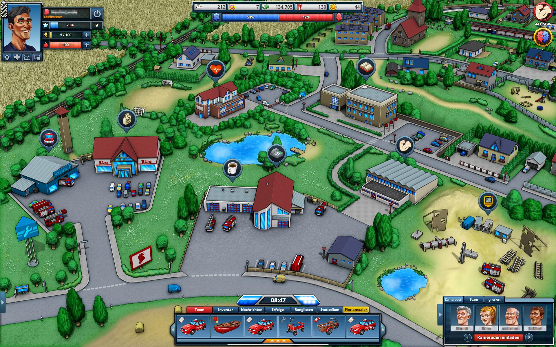 Feuerwehrspiel Online